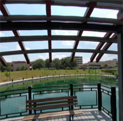 Panorama of NKU Bridge