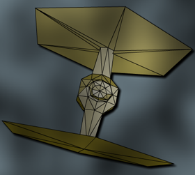 CS4 Flat Shaded Teifighter drawTriangles