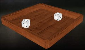 Dice and Table